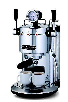 Novecento Ariete Machine à expresso Cappuccino Café chromé 1387 - Rotex