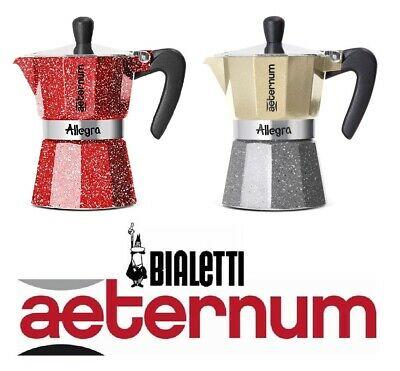Machine à café expresso Moka Allegra Aeternum Bialetti 1 tasse / 3 tasses