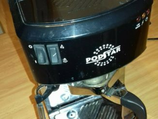 MACHINE À CAFÉ ESPRESSO EN MÉTAL PODSTAR sgl A WORKING PODS - EUR 79,99