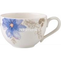 Villeroy & Boch Tasse à café Mariefleur Gris Basic 250 ml Hauteur: 6 cm Porcelaine Premium White B009OBF24K
