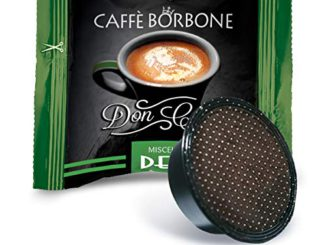 Bourbon Coffee Don Carlo Dek Mix - Emballage de 100 Capsules - Compatible avec Lavazza A Modo Mio®