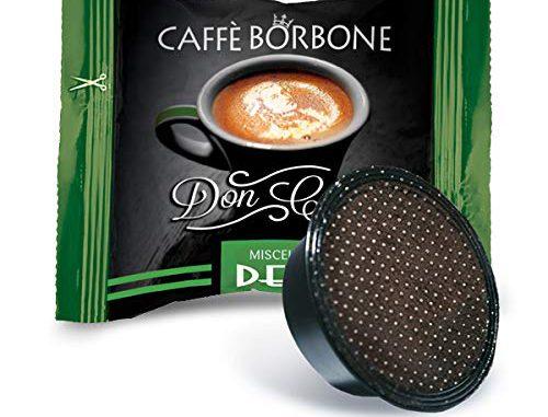 Bourbon Coffee Don Carlo Dek Mix - Emballage de 100 Capsules - Compatible avec Lavazza A Modo Mio®