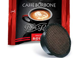 Bourbon Coffee Don Carlo Red Blend - Emballage de 100 Capsules - Compatible avec Lavazza A Modo Mio®