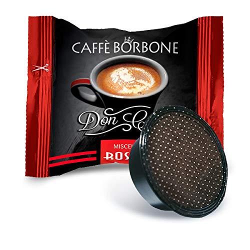 Bourbon Coffee Don Carlo Red Blend - Emballage de 100 Capsules - Compatible avec Lavazza A Modo Mio®