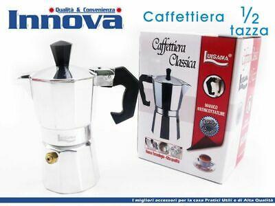 Moka Cafetière Cafetière Espresso Napolitaine Mesurer 1/2 tasse hmj