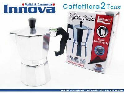 Cafetière Moka Cafetière Espresso Napolitaine Taille 2 Tasses hmj
