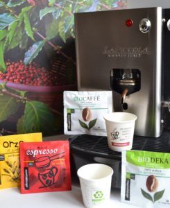 Machine à café à dosettes Altromercato