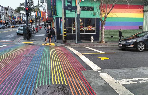 Les couleurs de l'arc-en-ciel du district de Castro (ph. Federica Maule)