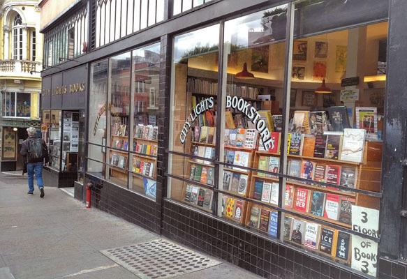 La librairie City Lights, fondée en 1953 (ph. Federica Maule)