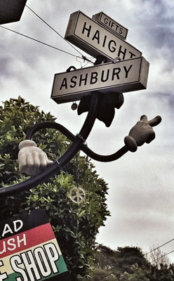 Haight Ashbury, district hippie (ph. Federica Maule)
