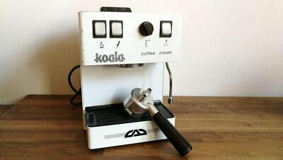 Machine à café expresso vintage italienne, cappuccino Koala Coffee Cream
