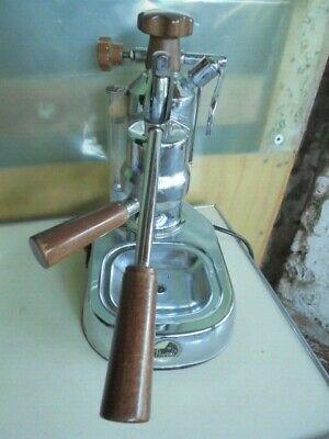 LA PAVONI EUROPICCOLA MACHINE À CAFÉ ESPRESSO LUXURY avec levier machine à café italie