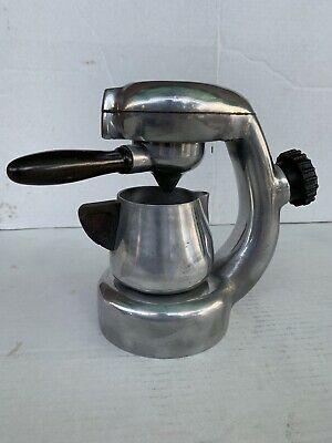 Machine à café atomique Robbiati Rara Antica Machine à café Années 50 Vintage Old