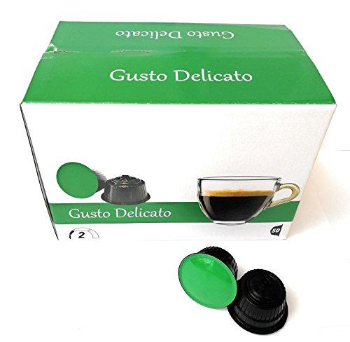 50 capsules de café compatible Nemos Dolce Gusto délicat