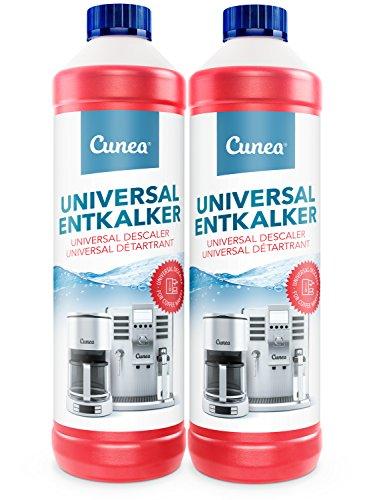 Détartrant 2x détartrant liquide 750 ml - pour machines à café