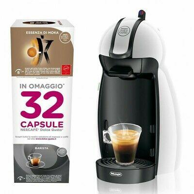 De Longhi EDG100.W - Machine à café à capsules, 15 bars, 0.6 Lt. avec 32 # 0729