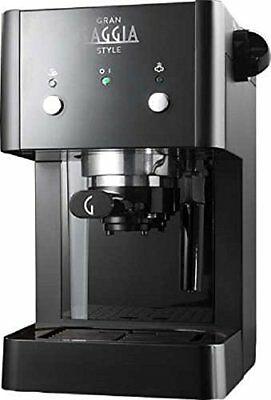 RI8423 / 11 Gaggia Gran Style Machine à poudre de barre de café noir