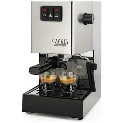 GAGGIA RI940311 Machine à café expresso classique Inox Manuel Puissance 1300 Wa