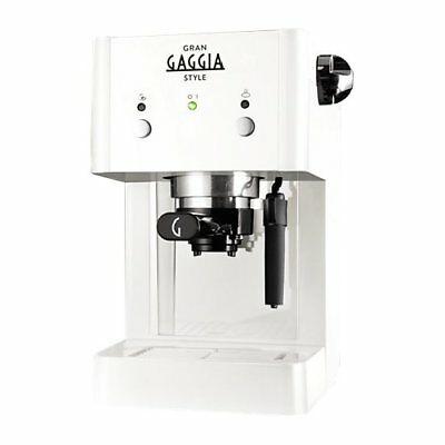 Gaggia STYLE WHITE - RI8423 / 21 MACHINE À CAFÉ À EXPRESSO MANUELLE
