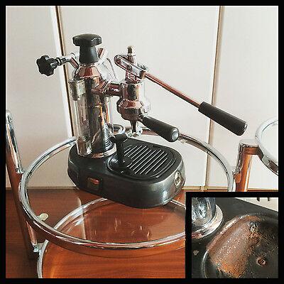 La PAVONI machine à café à levier machine à café cafetera vintage expresso vieux