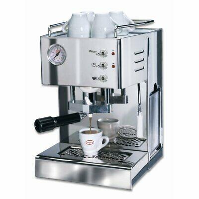 Machine à café avec dosette modèle O6000 Quick Mill en acier inoxydable NOUVEAU