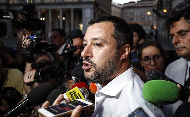 """<pre><pre>Des émissaires de Salvini à la recherche de roubles? Il y a un audio. La ligue: """"Querelo"""""""