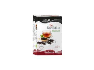 Filtre en papier à 18 dosettes 44 mm Sandemetrio Tisana Bio Te Nero Breakfast