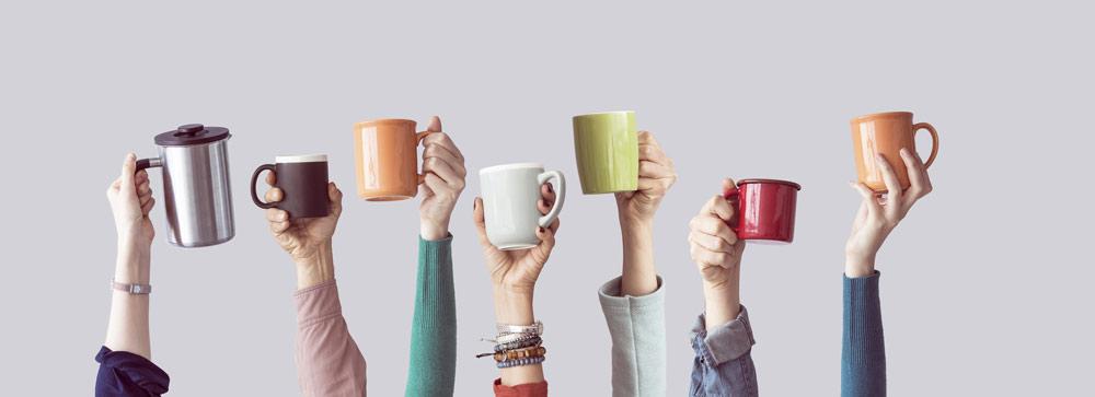 A chacun sa tasse de café