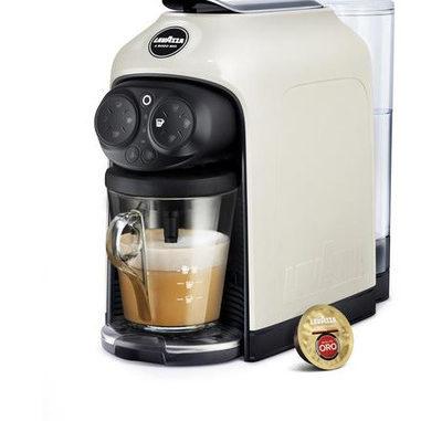 <pre><pre>Lavazza Espresso Capsule Fermée DESEA LM950 blanc