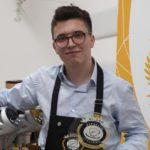 """Le bébé barista de l'échantillon raconte: """"Je serai l'ambassadeur du café italien dans le monde"""""""