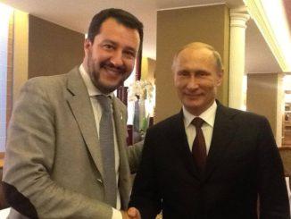 Les liens entre la Russie et la Ligue vus par la presse étrangère