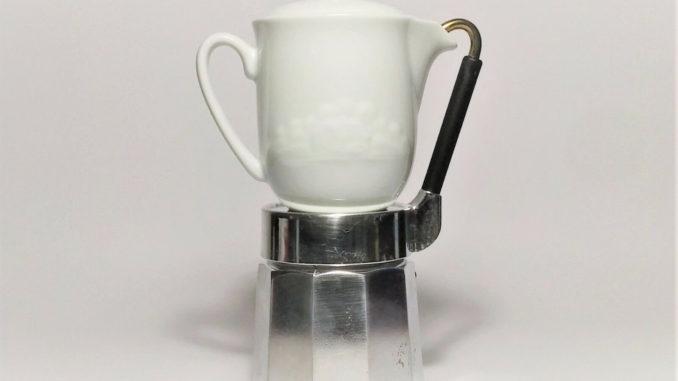 <pre><pre>Machine à café Vintage cafetière expresso pichet en porcelaine Mulino Bianco des années 80 - 45,00 EUR