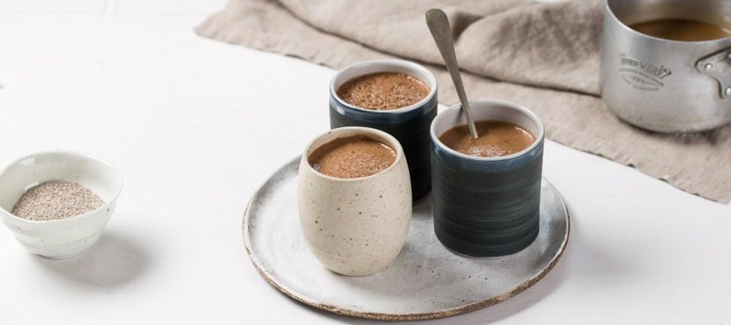 Café et graines de chia: un mélange de nutriments et d'énergie formidable