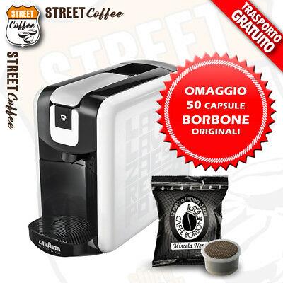 Machine à café à capsules Caps Pod Lavazza Espresso Point Ep + 50 capsules BORBONE