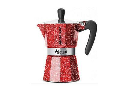 Machine à café expresso Moka Bialetti Aeternum Allegra 3 tasses (51564)