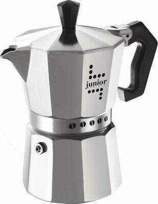 Cafetière espresso Bialetti Moka 3 Tasses couleur rouge 0000032NW Junior