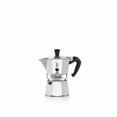 Machine à café 1/2 tasse demi-tasse moka moitié aluminium Bialetti 5791 - Rotex