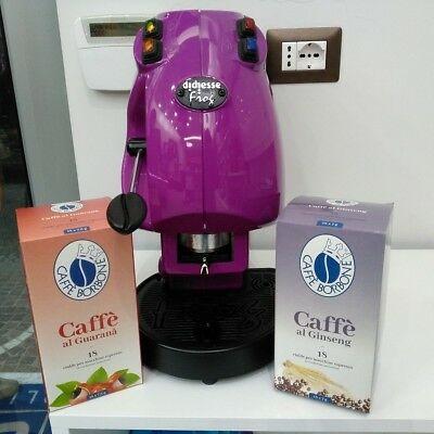 36 dosettes de café Ginseng Borbone et Guaranà - café aromatisé
