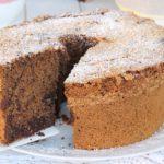 CHIFFON CAKE BICOLORE coco caffe cacao | recette de beignets panachés