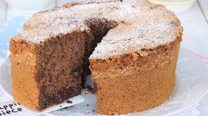 <pre><pre>CHIFFON CAKE BICOLORE coco caffe cacao | recette de beignets panachés