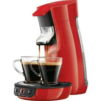 Machine à café avec senseo viva cafe HD6563 / 80 pods rouges (92p)