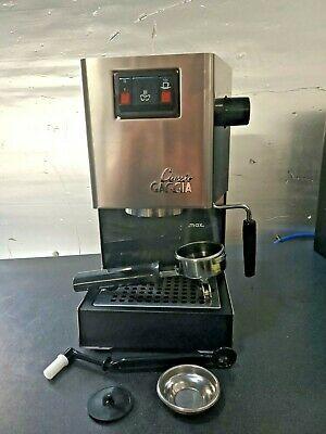 Machine à café expresso remise à neuf Gaggia Classic avec extras