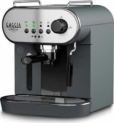 Machine à café expresso Gaggia - dosettes Cappuccinatore 1,4 Litres 1900 Watts Carezza