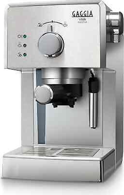 Machine à café cappuccino manuelle à expresso Gaggia - dosettes RI8437 / 11 Viva Prestige