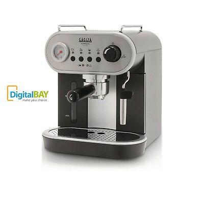 Machine à expresso à cappuccino manuelle Gaggia RI8525 / 01 Carezza Deluxe Sb