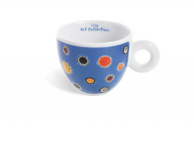Illy Art Collection Tasse À Café + Soucoupe Espresso GILLO DORFLES Signé NEW IPA