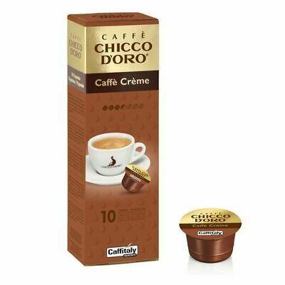 100 Capsules Caffitaly System Chicco D'oro Caffe Crèmes originales Break Shop