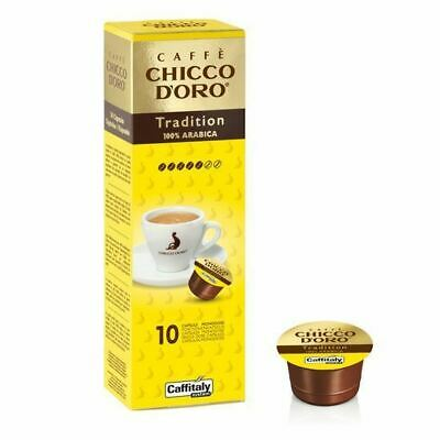 200 Capsules Caffitaly System Caffe 'Chicco D'oro Tradition Arabica Break Shop
