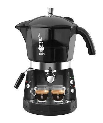 Machine à café Bialetti Mokona Noir transparent 20 bars trivalent CF40 Rotex