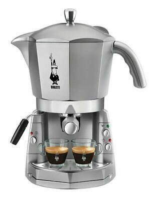 """* Machine à café argentée CF40 TRIO BIALETTI """"MOKONA"""" NOUVEAU SigilL Original"""
